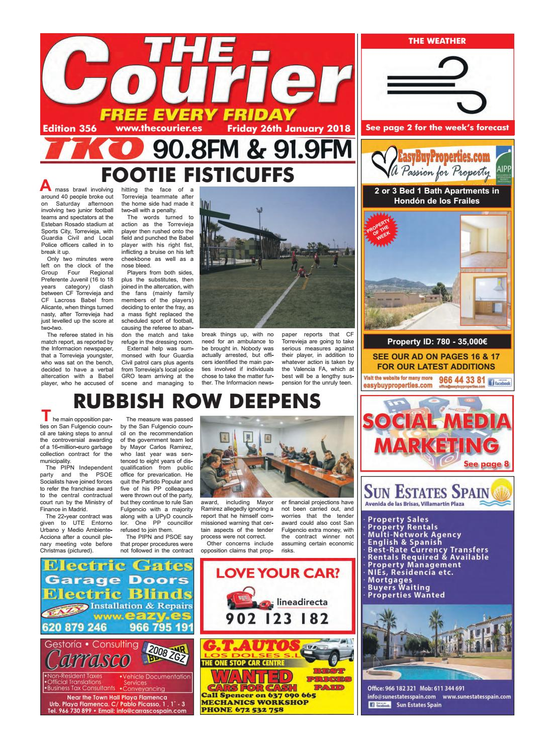 The Courier 356 By The Courier Newspaper Issuu