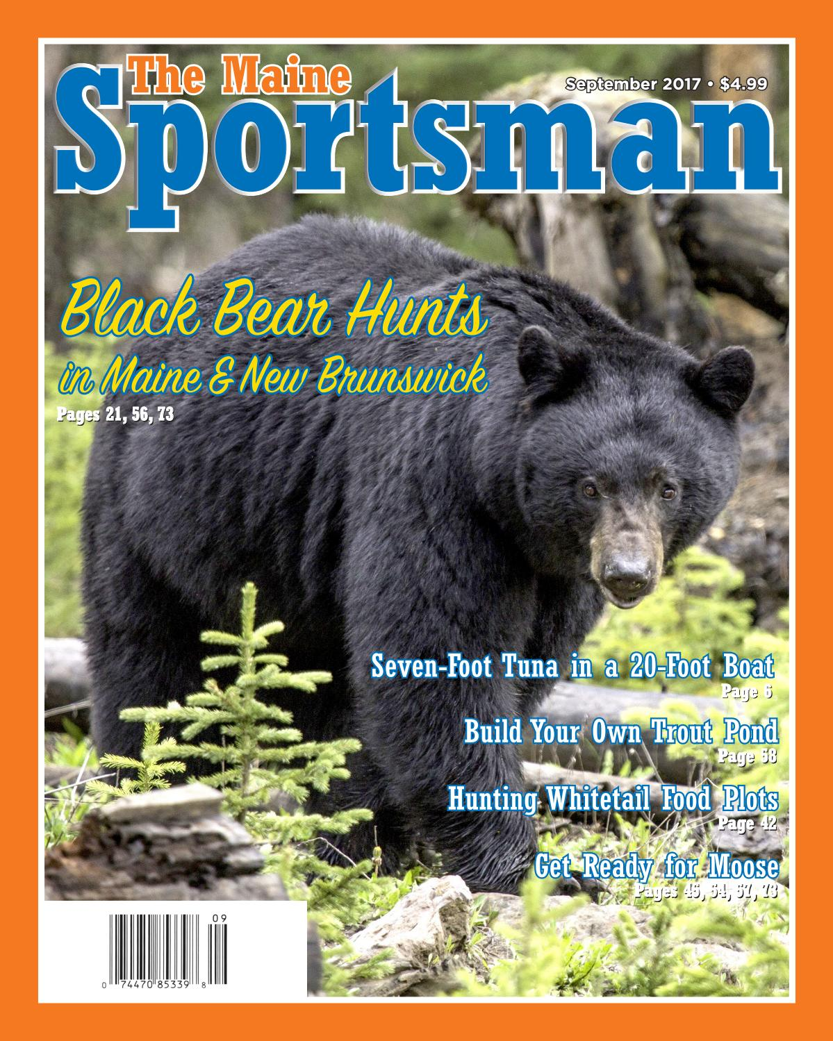 368f914429 The Maine Sportsman - September 2017 by The Maine Sportsman - Digital  Edition - issuu