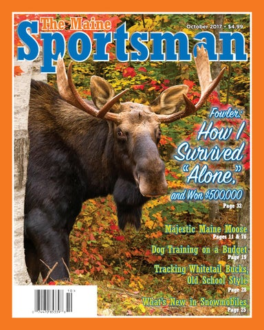 fbad5354655ce2 The Maine Sportsman - October 2017 by The Maine Sportsman - Digital ...