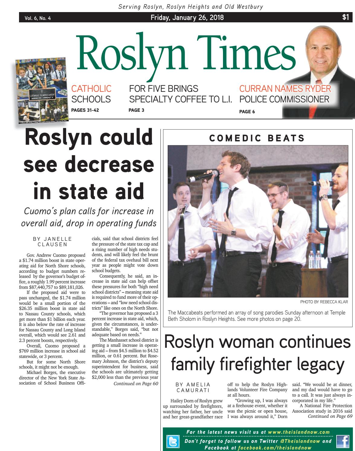 Roslyn 2018 01 26 by The Island Now - issuu