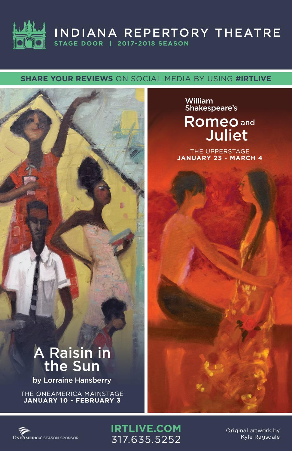 Irt program a raisin in the sun and romeo and juliet by irt program a raisin in the sun and romeo and juliet by indiana repertory theatre issuu biocorpaavc