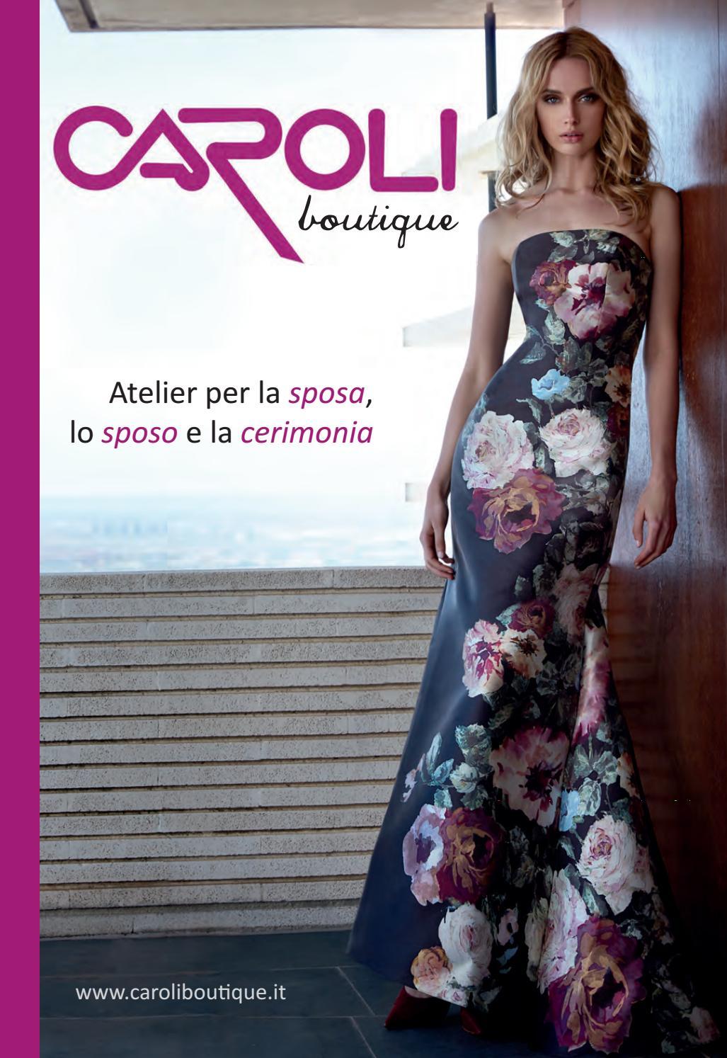 Vestiti Da Sposa Urgnano.Abiti Da Cerimonia 2018 By Caroli Boutique Issuu