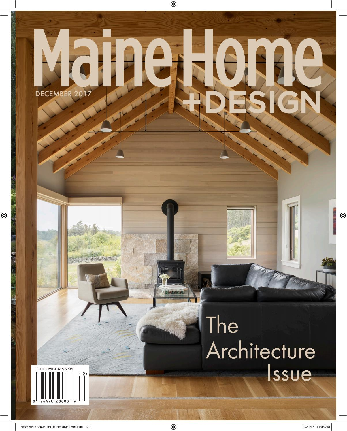 Maine home design december 2017