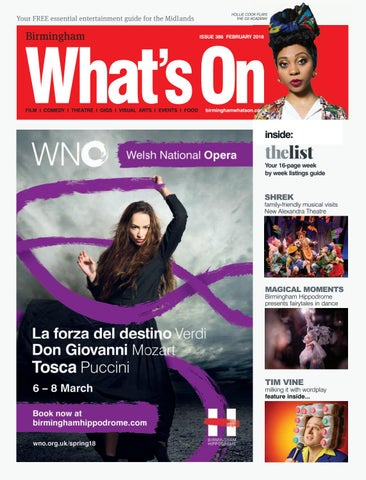 Birmingham Whats On February 2018 By Magazine For