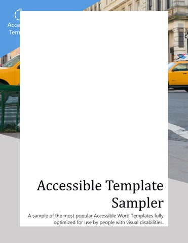 accessible template sampler by keith melody issuu