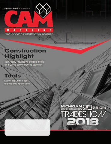 January 2018 cam magazine by Construction Association of