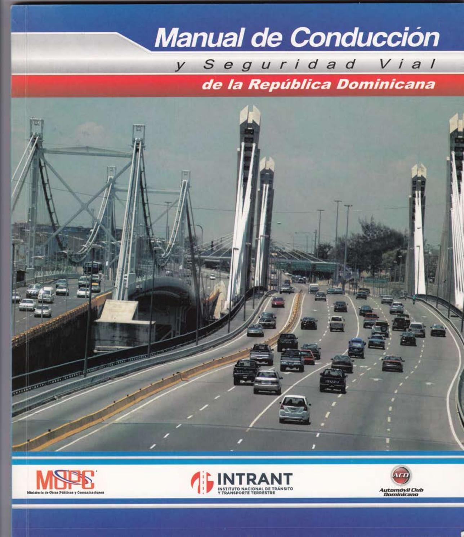 Manual de Conduccion y Seguridad Vial de la Republica ...