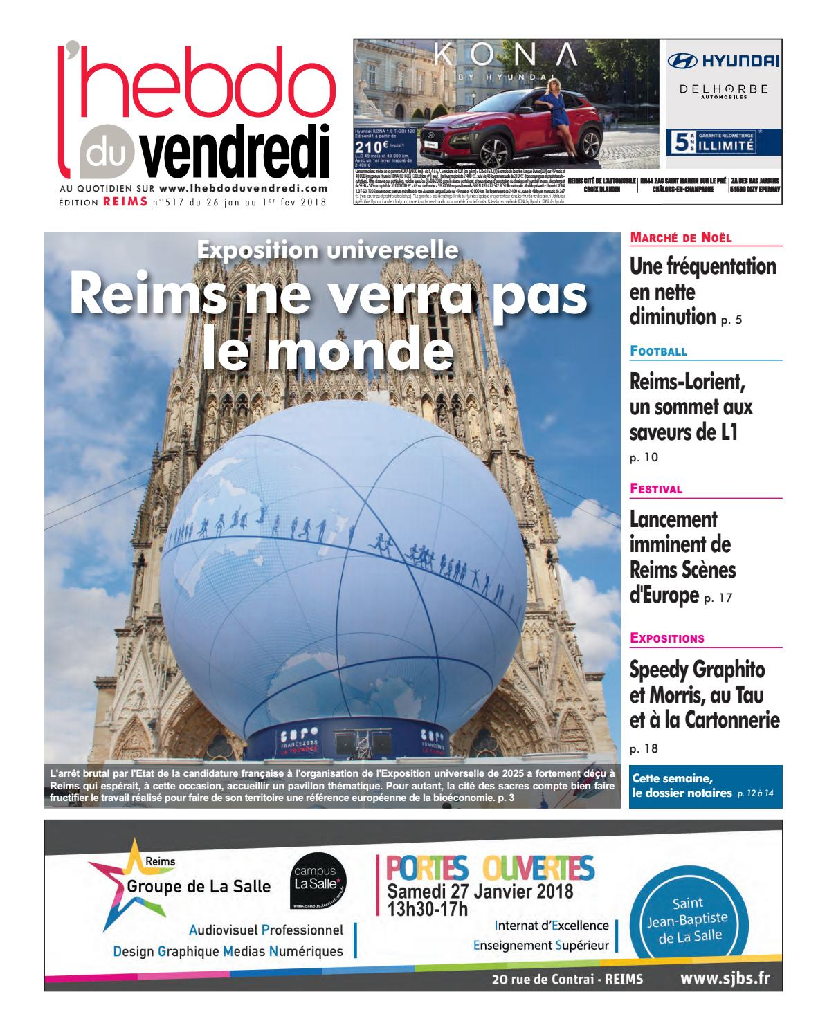 Lhebdo Du Vendredi Reims 517 By Kilkoa Issuu