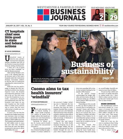 Westchester fairfield county business journals 012918 by wag page 1 reheart Choice Image