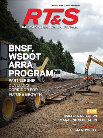 RT&S January 2018 by Railway Track & Structures - issuu
