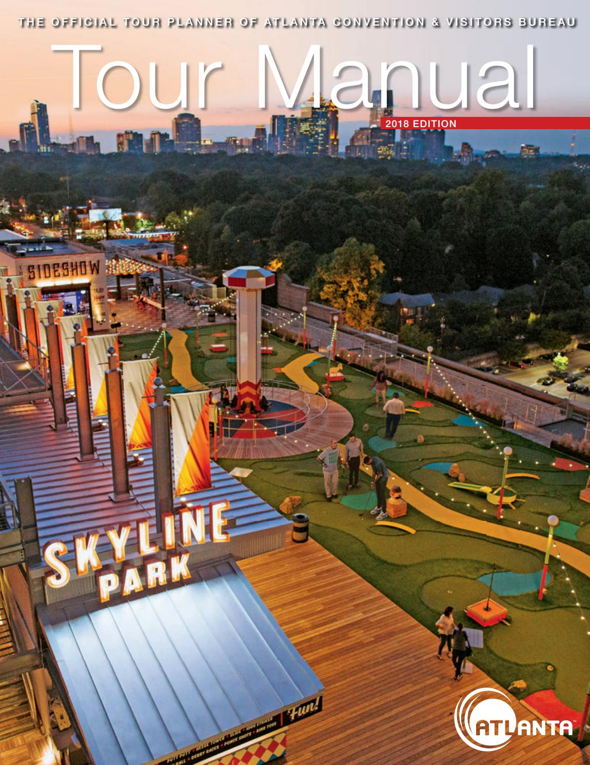 Atlanta | Tour Manual 2018 by Atlanta CVB - issuu