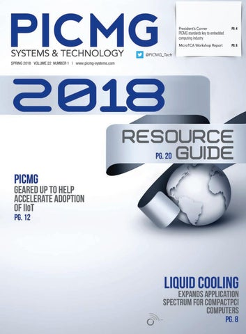 PICMG Systems & Technology with Resource Guide Spring 2018