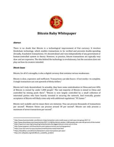 bitcoin ruby)