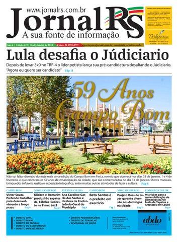987053320 Edição 219 Jornal RS - A Sua Fonte de Informação by Jornal RS A Sua ...