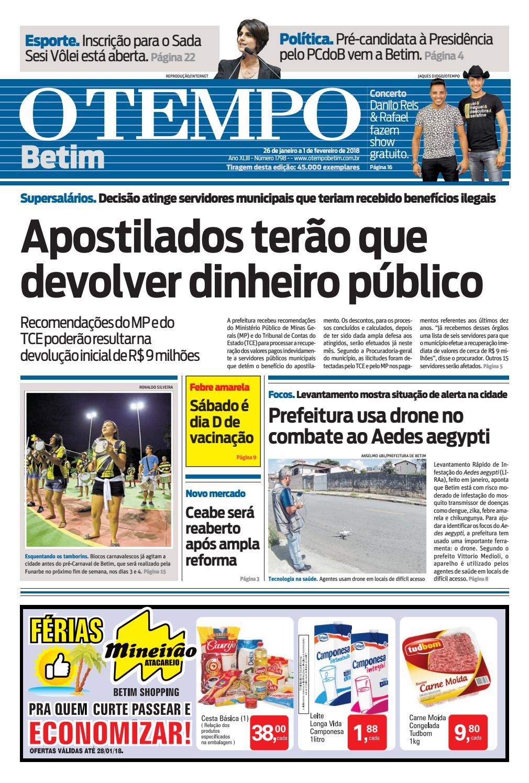 8ef30c9ee1cec O Tempo Betim - 26 de janeiro a 1 de fevereiro de 2018 by Tecnologia Sempre  Editora - issuu