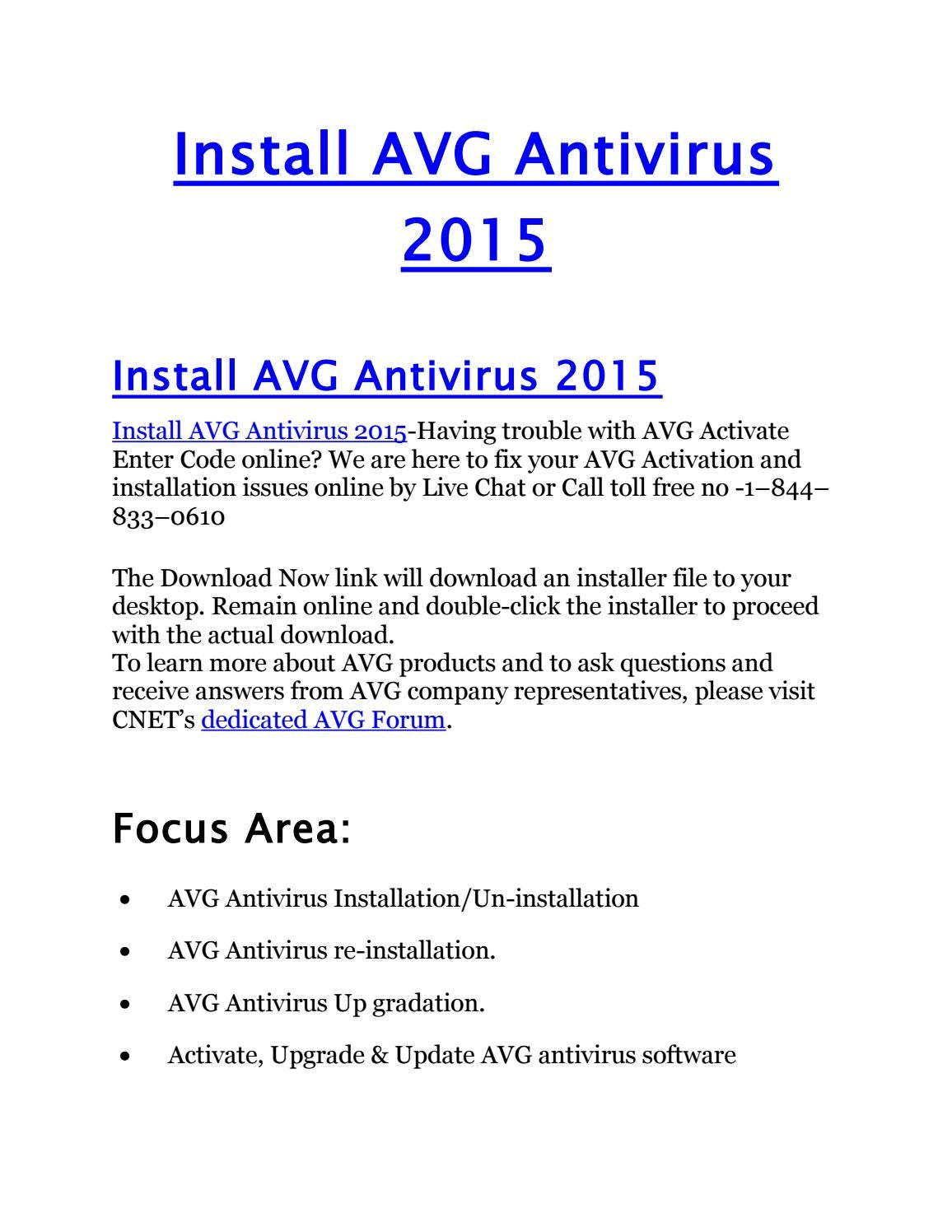 avg free version cnet