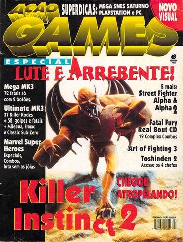 Ação Games 102 - Abril 1996 by Checkpoint Geek Bar - issuu 7ea2b2f52fb61
