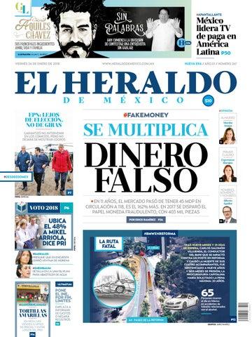 92a35217d42ee El Heraldo de México 26 de enero del 2018 by El Heraldo de México ...