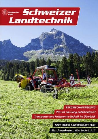 Schweizer Landtechnik 09/2016 by Schweizerischer Verband für ...