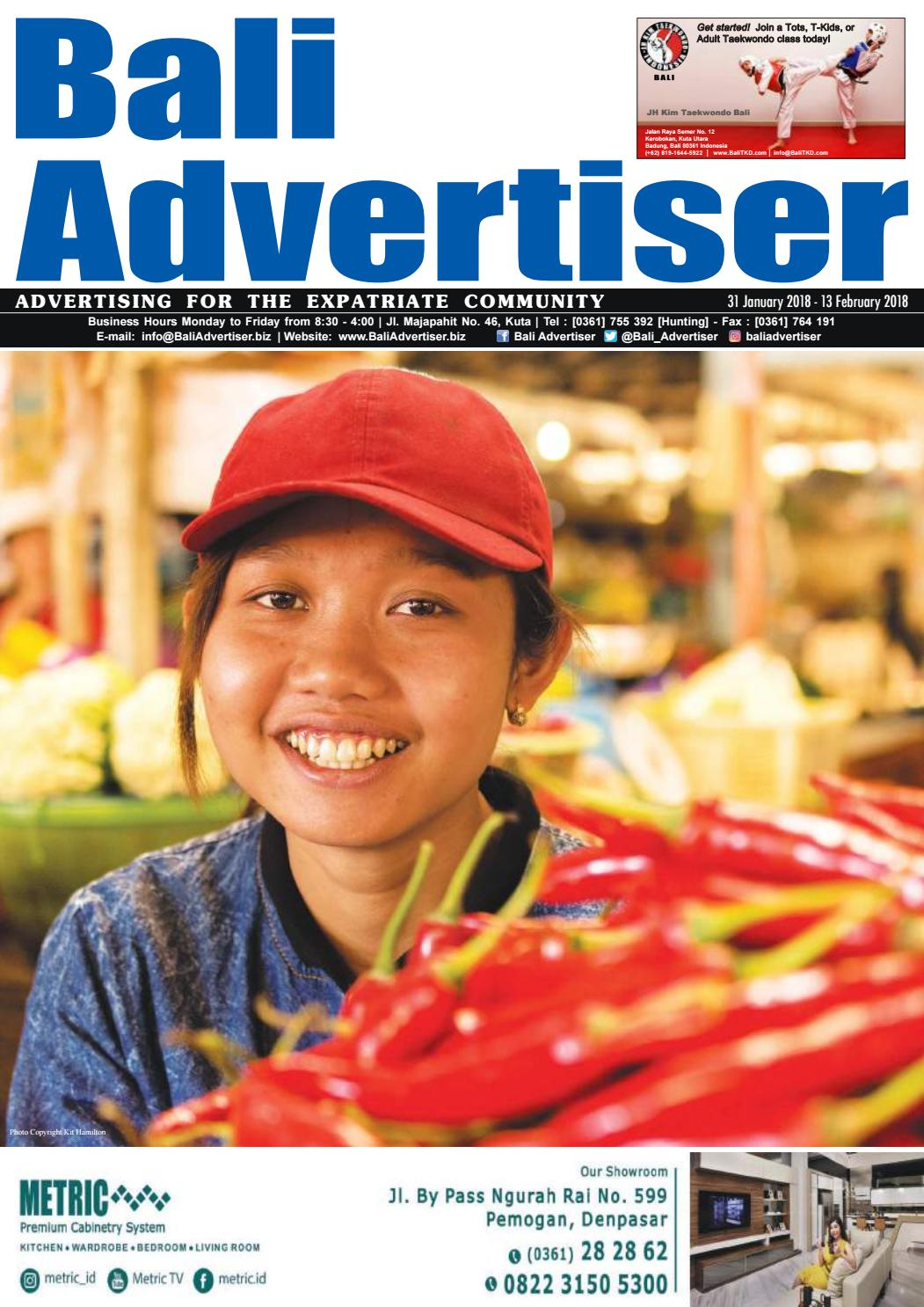 BA_31 January 2018 by Bali Advertiser - issuu