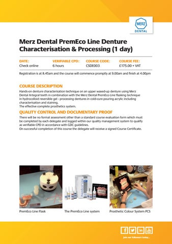 Page 23 of Merz Dental Courses