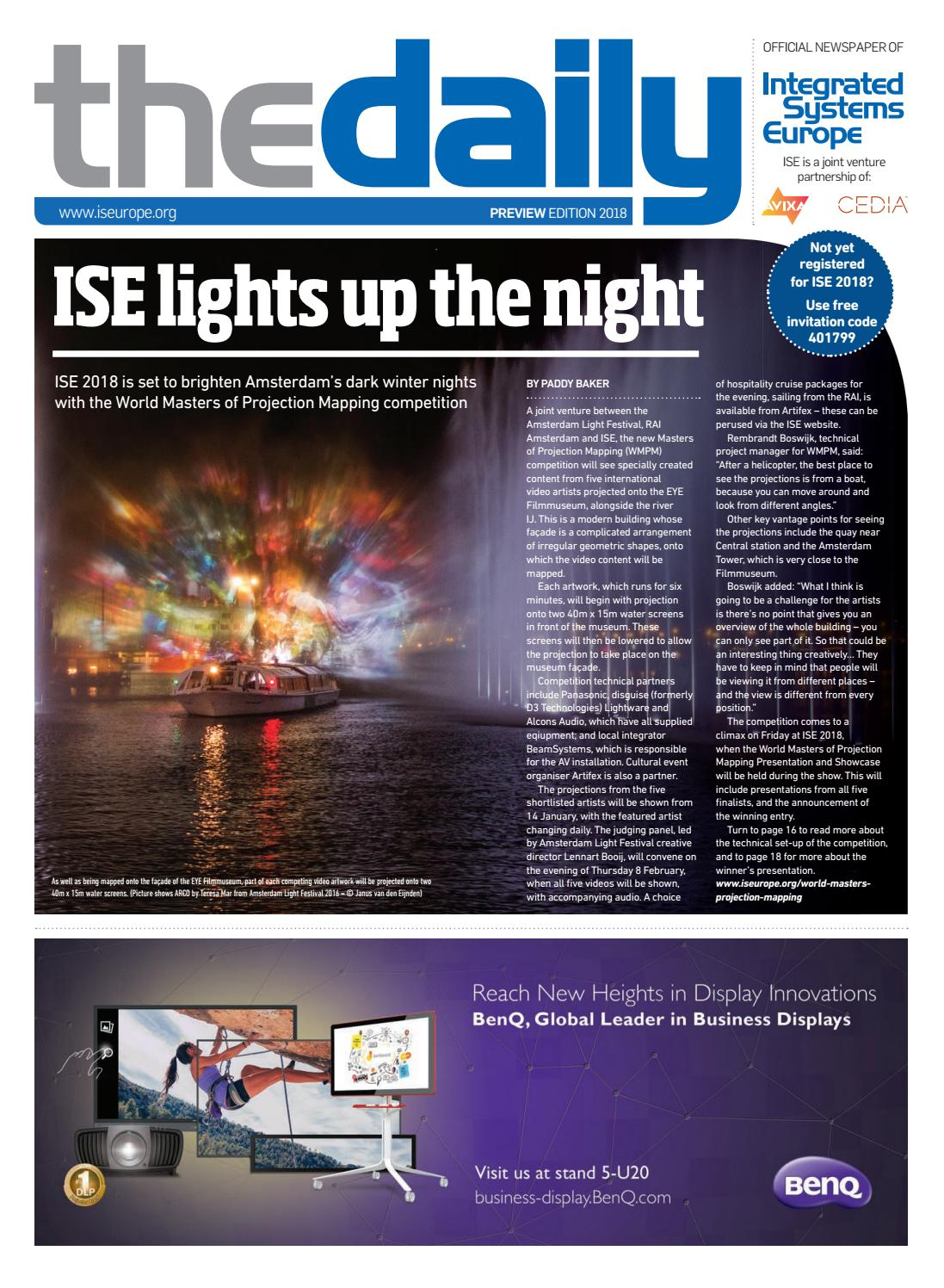 ISE Daily 2018 Preview digital edition by Future PLC - issuu
