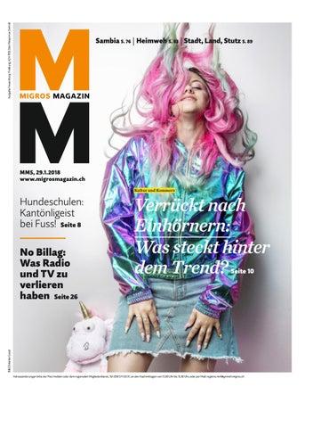 Migros magazin 05 2018 d ne by Migros Genossenschafts Bund