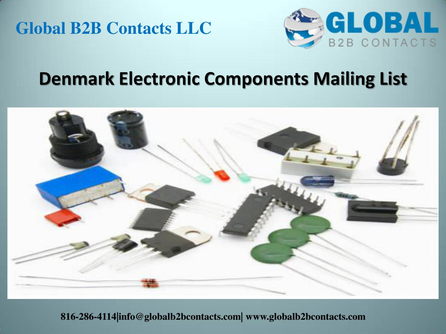 Denmark electronic components mailing list by lara ruth - issuu