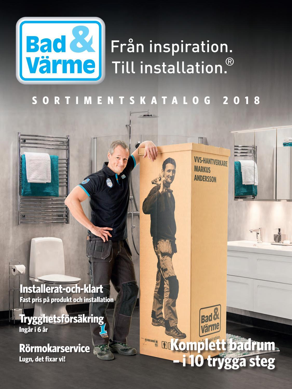 Bad   Värme Katalog 2018 by Fridholm   Partners - issuu 2d373a7304da5