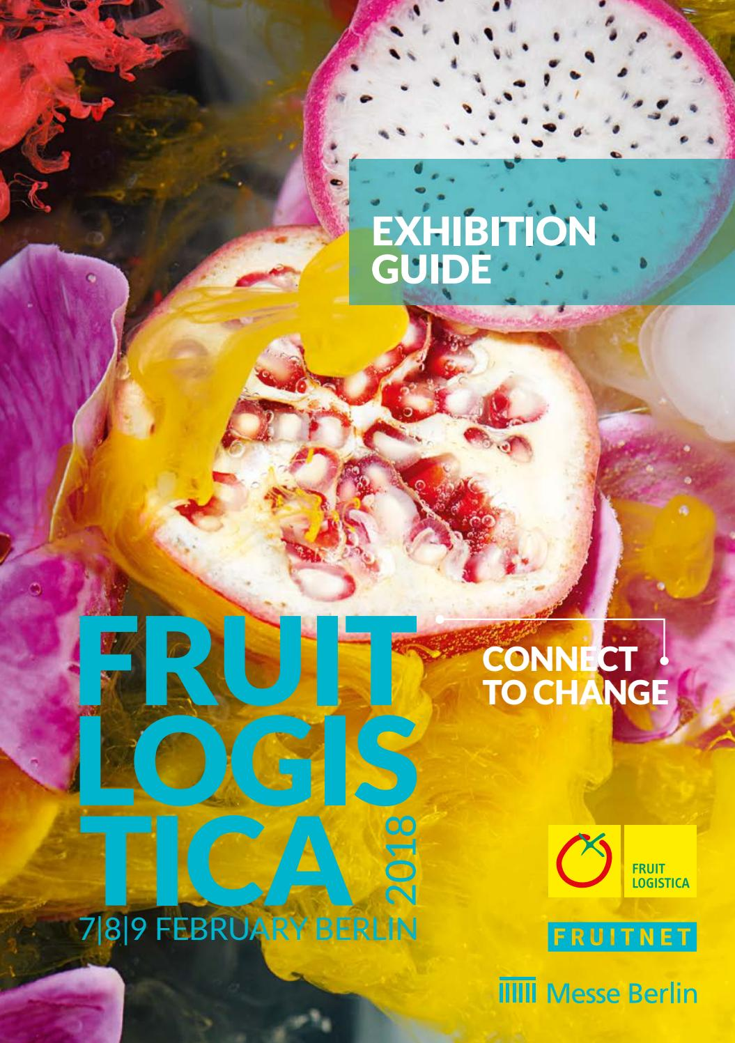 exhibition guide fruit logistica 2018 by fruchthandel
