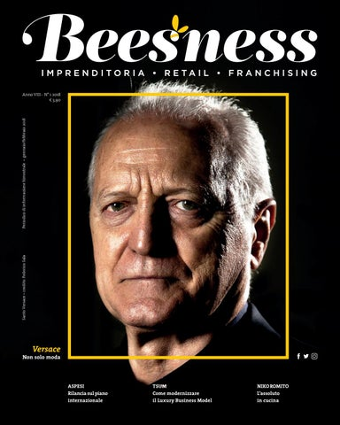 Beesness - Cover  Santo Versace by Beesness - issuu 36484773738