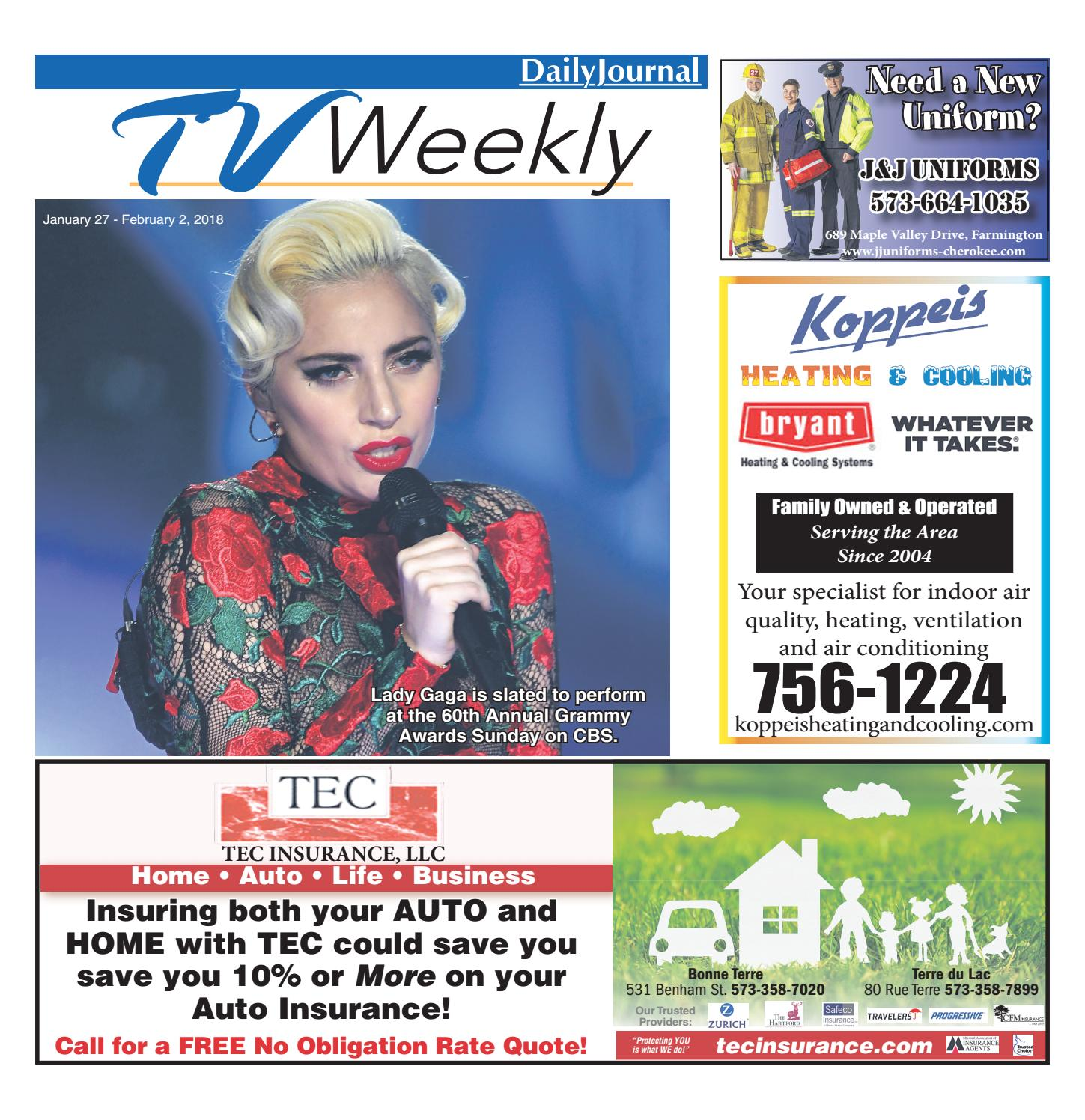 tvweekly-january_27-february_2_2018 by daily journal online - issuu