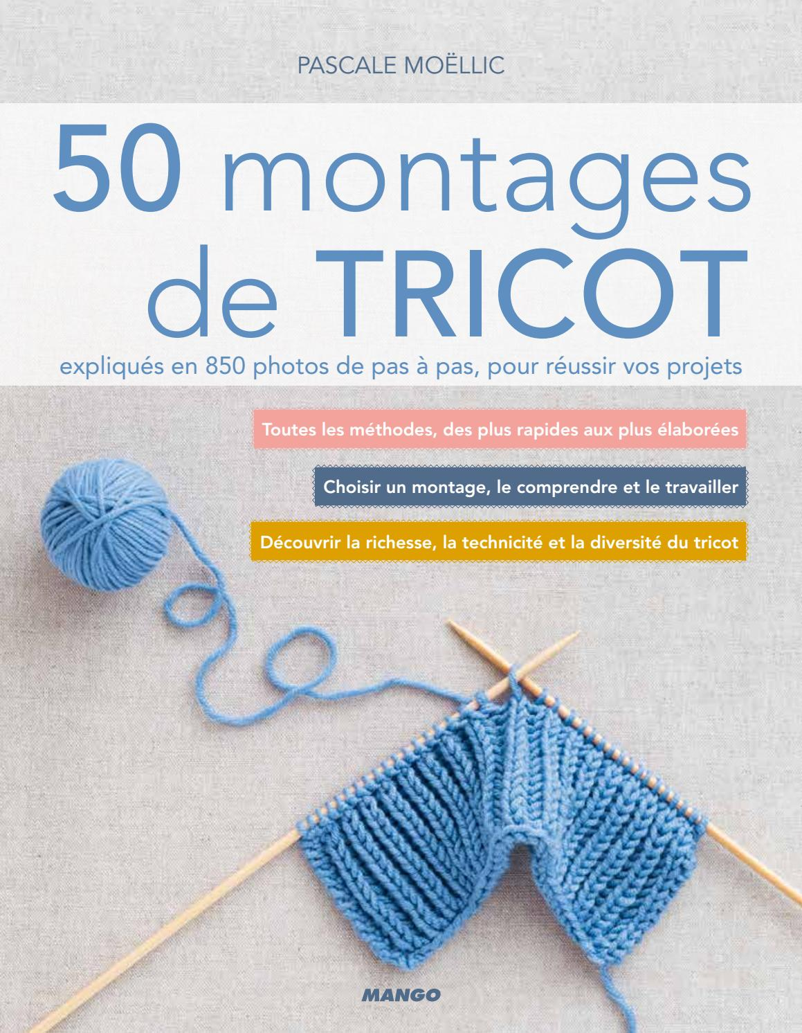 50 Montages De Tricot By Fleurus Editions Issuu