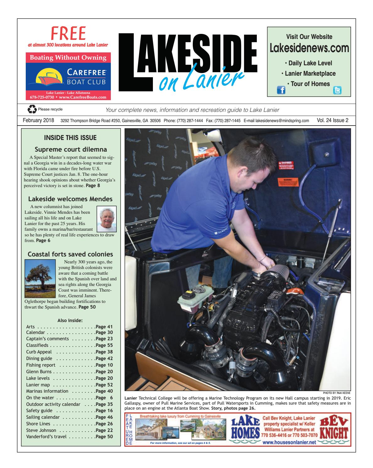 Lakesideonlanierfebruary2018 by Lanier Publishing Inc  - issuu