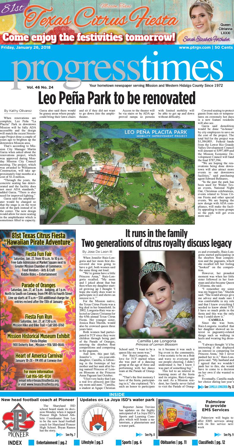 January 26, 2018 - PT ISSUE by Progress Times - issuu