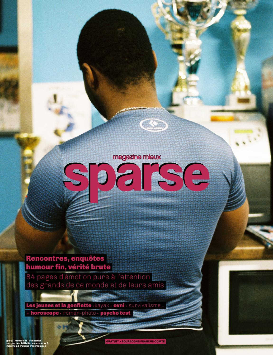 newest 9d358 270fc Sparse 21 (déc. 2017) by Sparse - issuu
