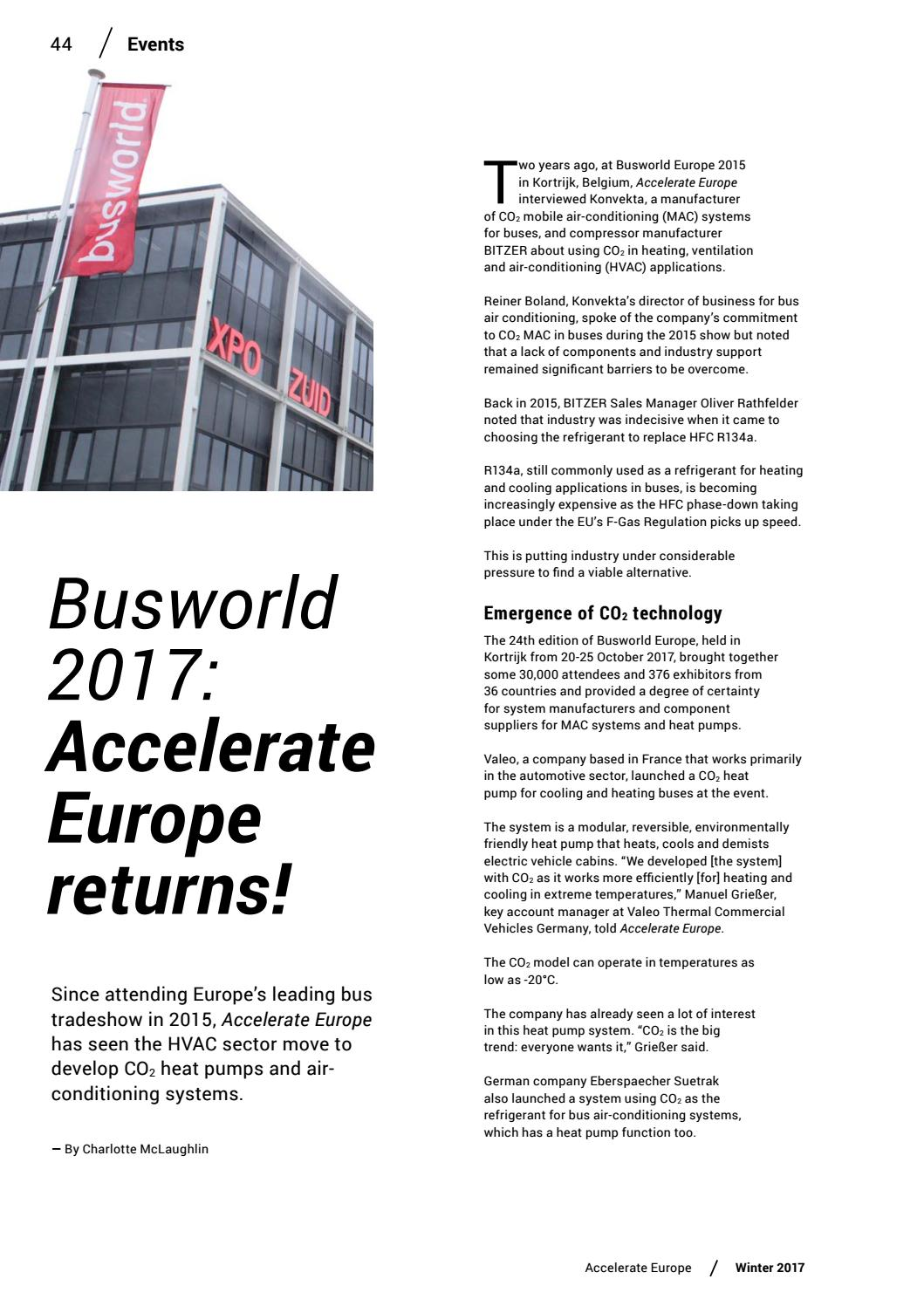 Accelerate Europe #9 Winter 2017 by shecco - issuu