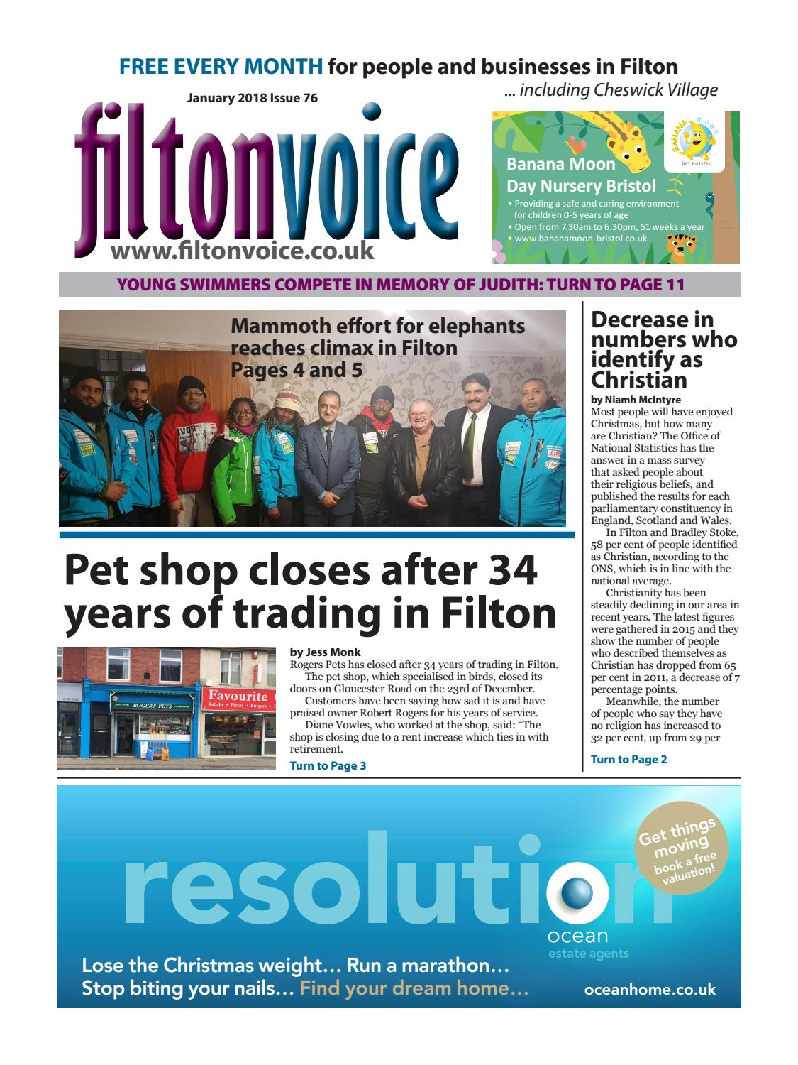 Filtonvoice January 2018 by Richard Coulter - issuu