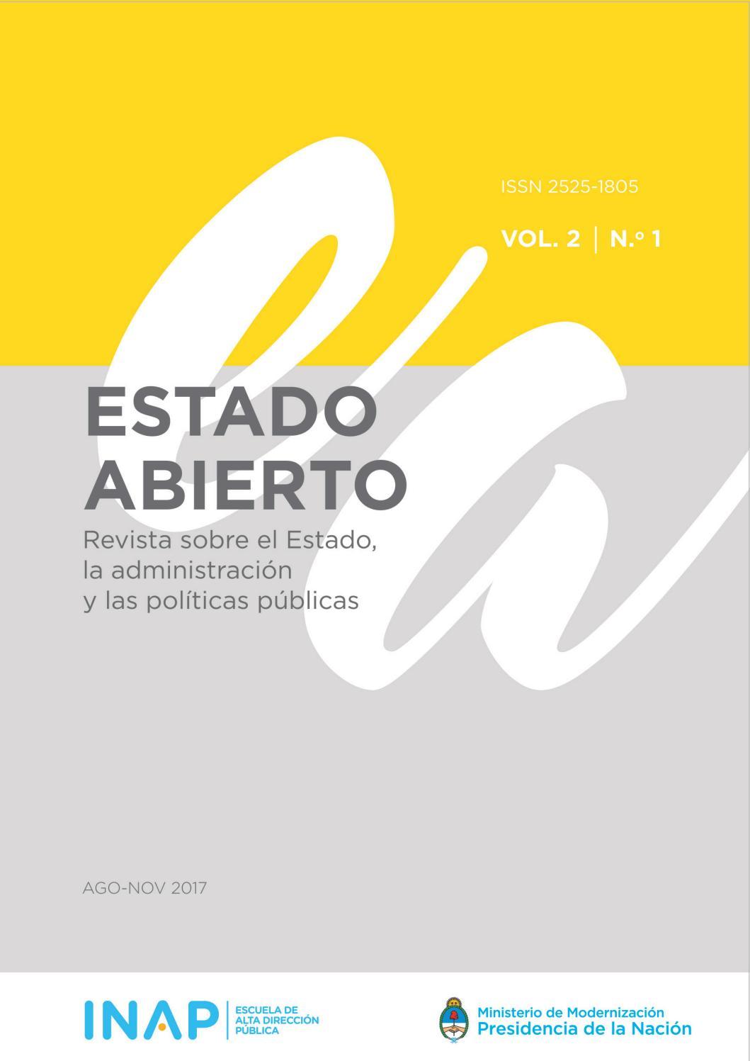 Estado Abierto 1 Vol 2 By Alta Dirección Pública Issuu
