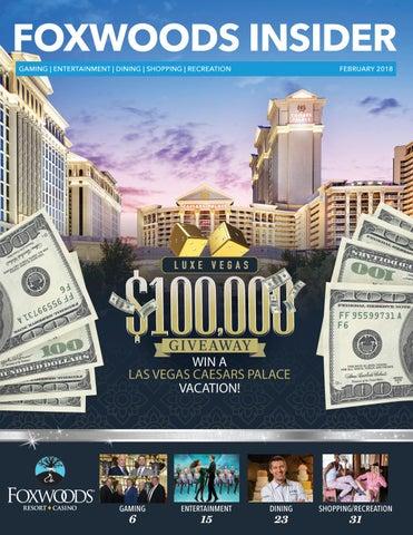 18d9191e429 Foxwoods Insider  February 2018 by Foxwoods Resort Casino - issuu