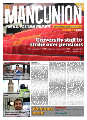 Issue 13 by The Mancunion - issuu