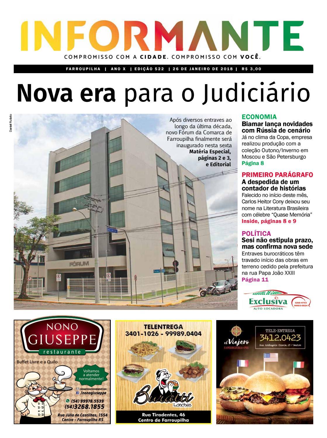 7f2520128bb49 Edição 522 by Informantef Informantef - issuu