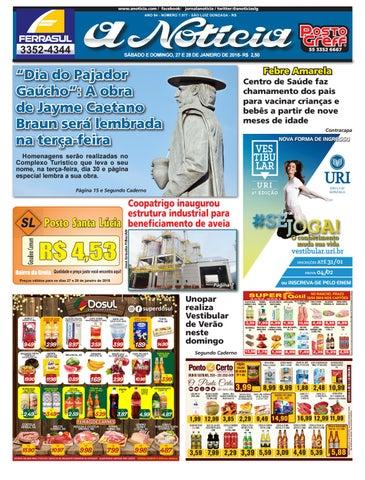 ab48bb5fe1 Edição de 27 e 28 de janeiro de 2018 by Jornal A Notícia - issuu