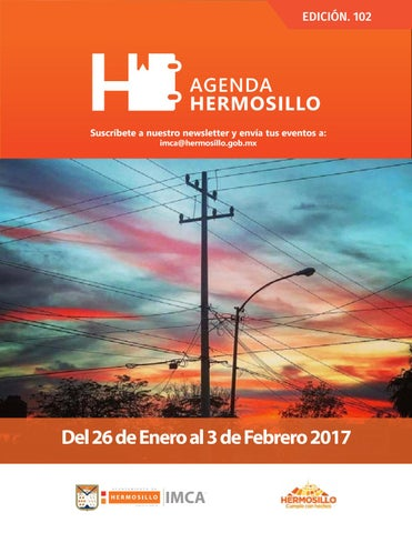 "Cover of ""Agenda hermosillo 26 ene 2018"""