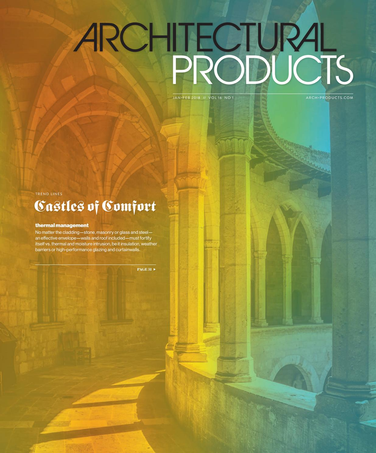 Architectural Products - January/February 2018 by Construction ...