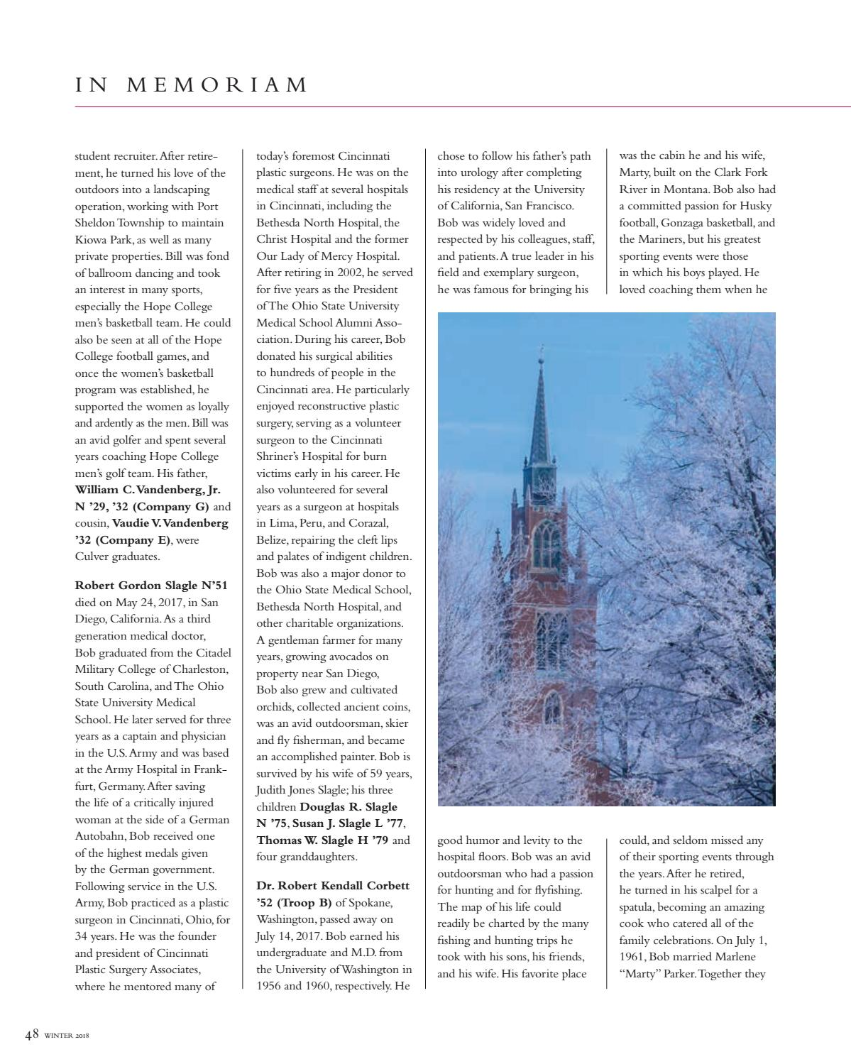 AMAG Winter 2018 by Culver Academies - issuu