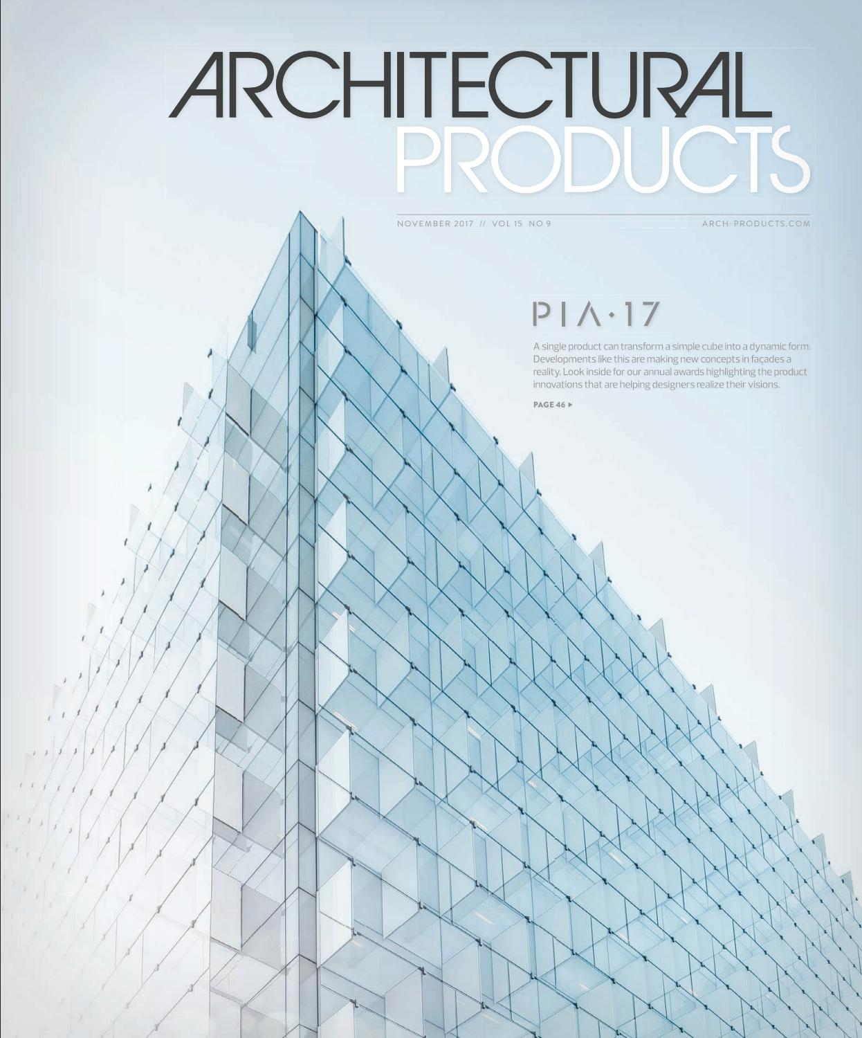 Architectural products november 2017 by construction business architectural products november 2017 by construction business media issuu fandeluxe Images