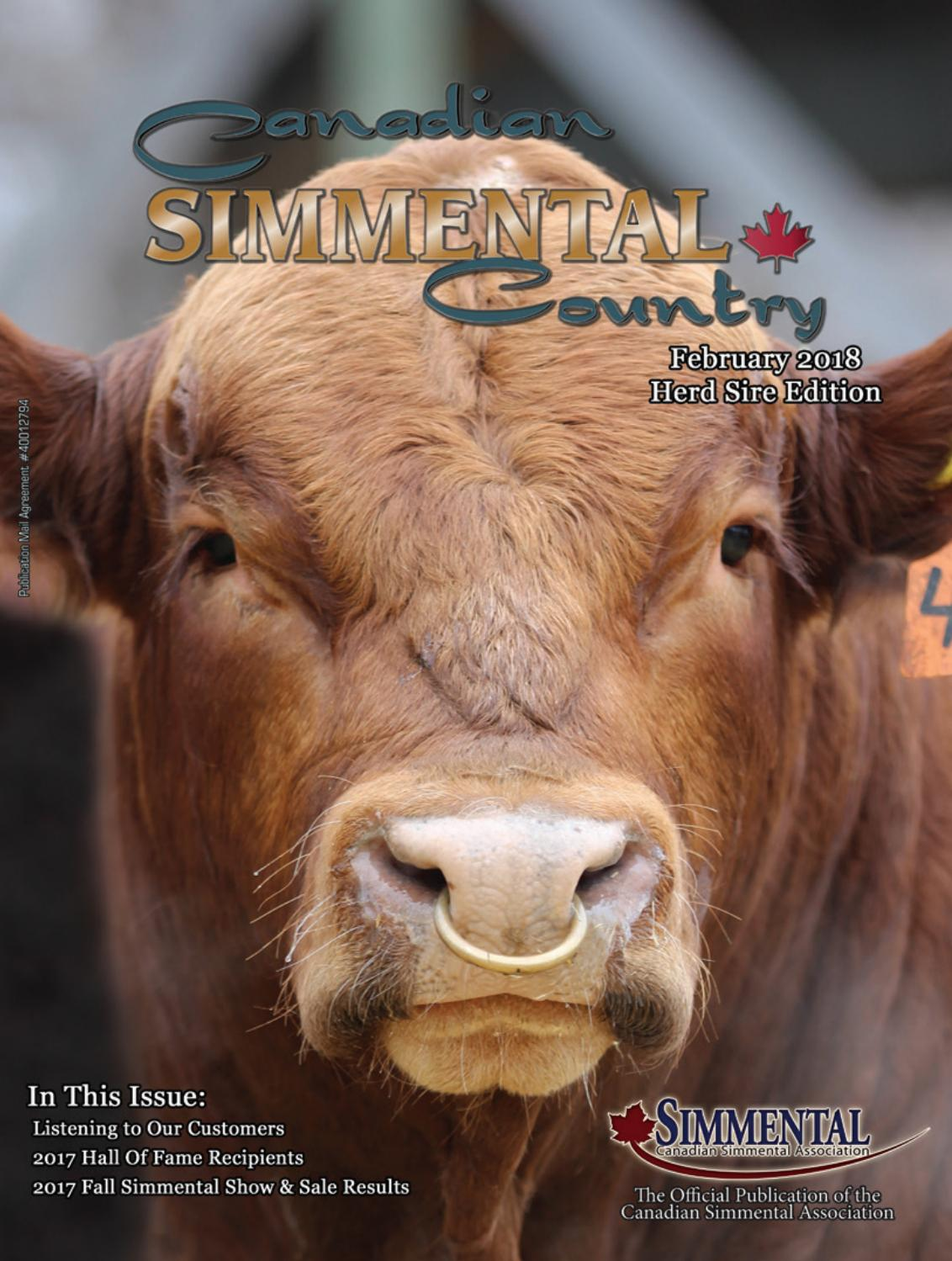 ffb4e97d1a9 Canadian Simmental Country February 2018 by Today s Publishing Inc. - issuu