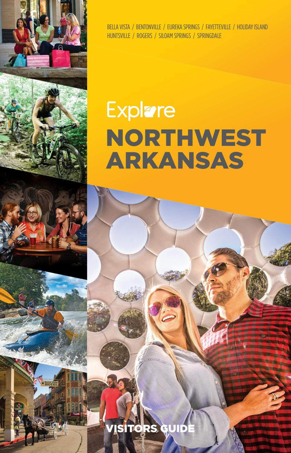 Northwest Arkansas Visitors Guide By Vantage Point Commmunications