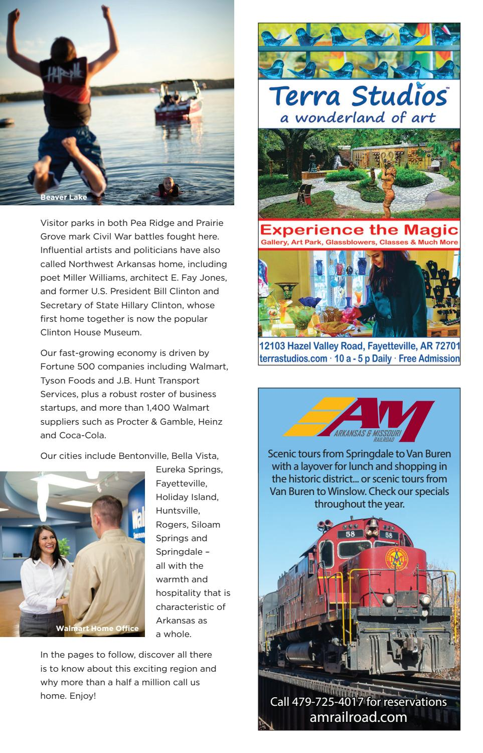 northwest arkansas visitors guide by vantage point commmunications issuu
